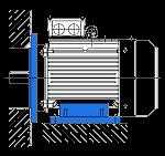 АИР 132 S8 монтажное крепление комбинирванное